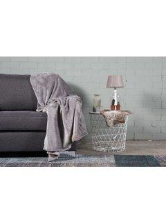 Nightlife Home Woondeken Flanel Fleece Grijs