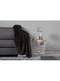 Nightlife Home Woondeken Fluffy Bruin 150x200