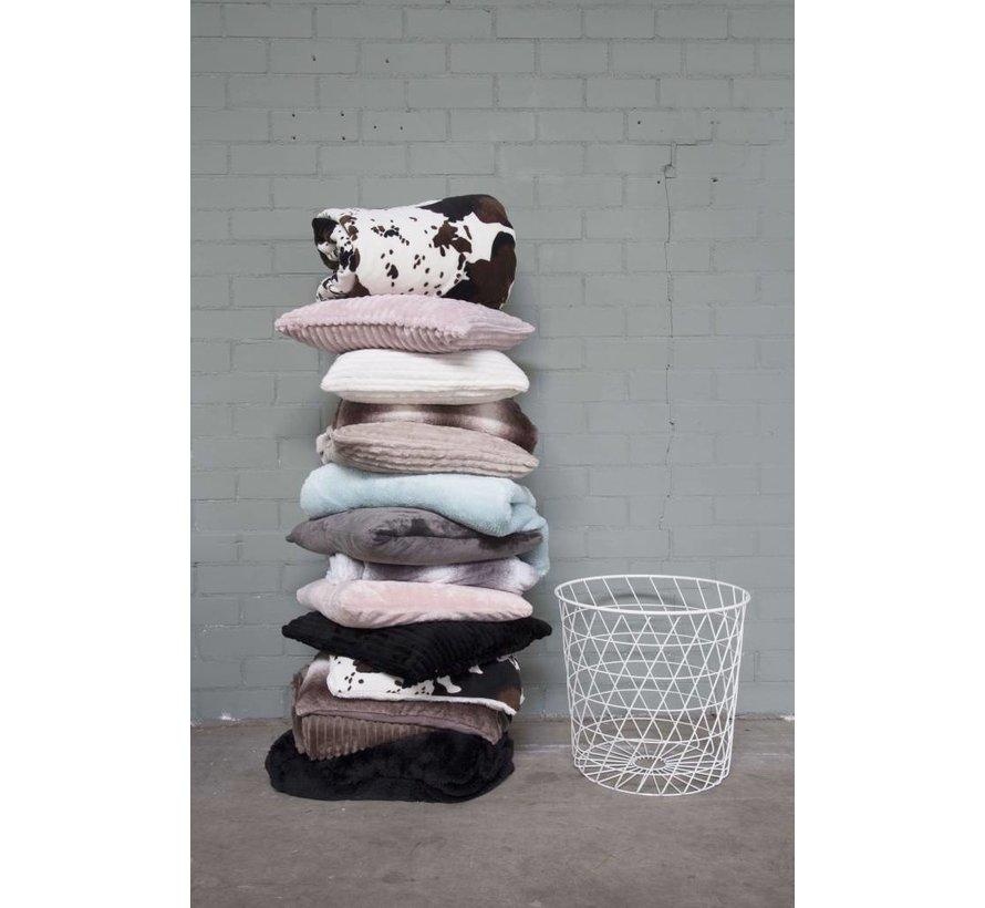 Woondeken Fluffy Taupe 150x200