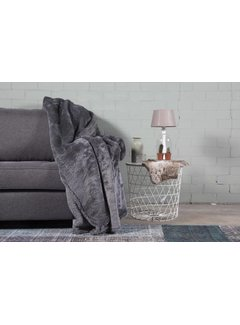 Nightlife Home Woondeken Fluffy Antraciet 150x200