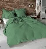 Pierre Cardin Dekbedovertrek Washed Uni Olive