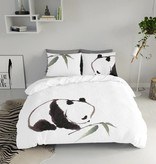 Nightlife Blue Dekbedovertrek Panda