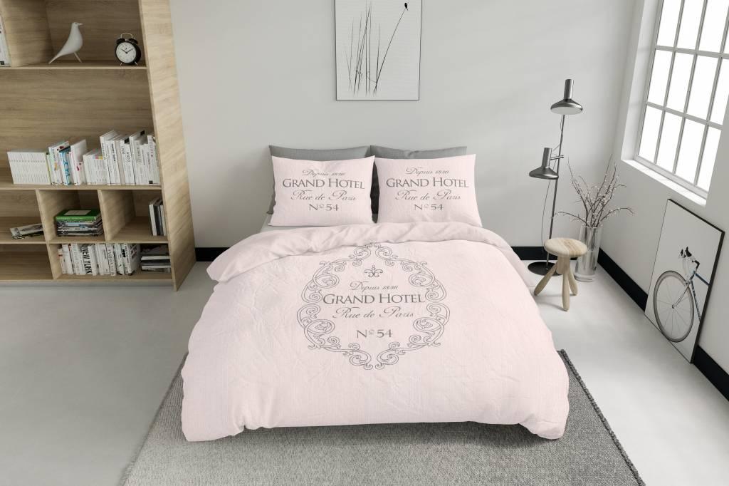 Licht Roze Dekbedovertrek : Dekbedovertrek grandhotel zacht roze nightlifeliving