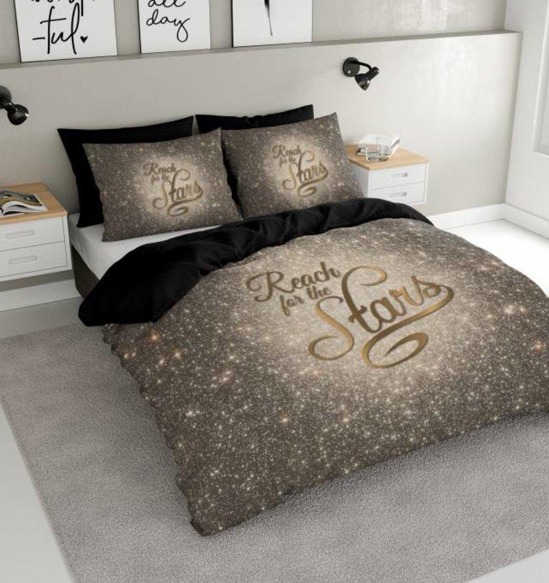 Nightlife Concept Dekbedovertrek Reach Stars Goud