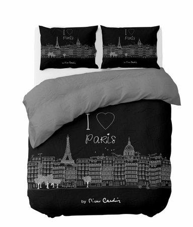 I Love Paris Zwart