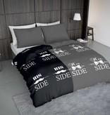 Wake-Up! Bedding Dekbedovertrek Snorry Grijs