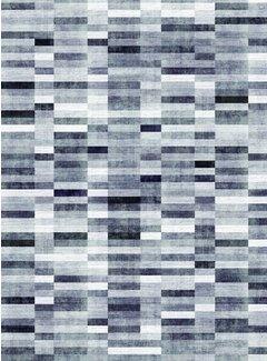 Loft Seven Vloerkleed Qube Pattern Grijs