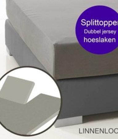 Splittopper Hoeslaken Linnenlook