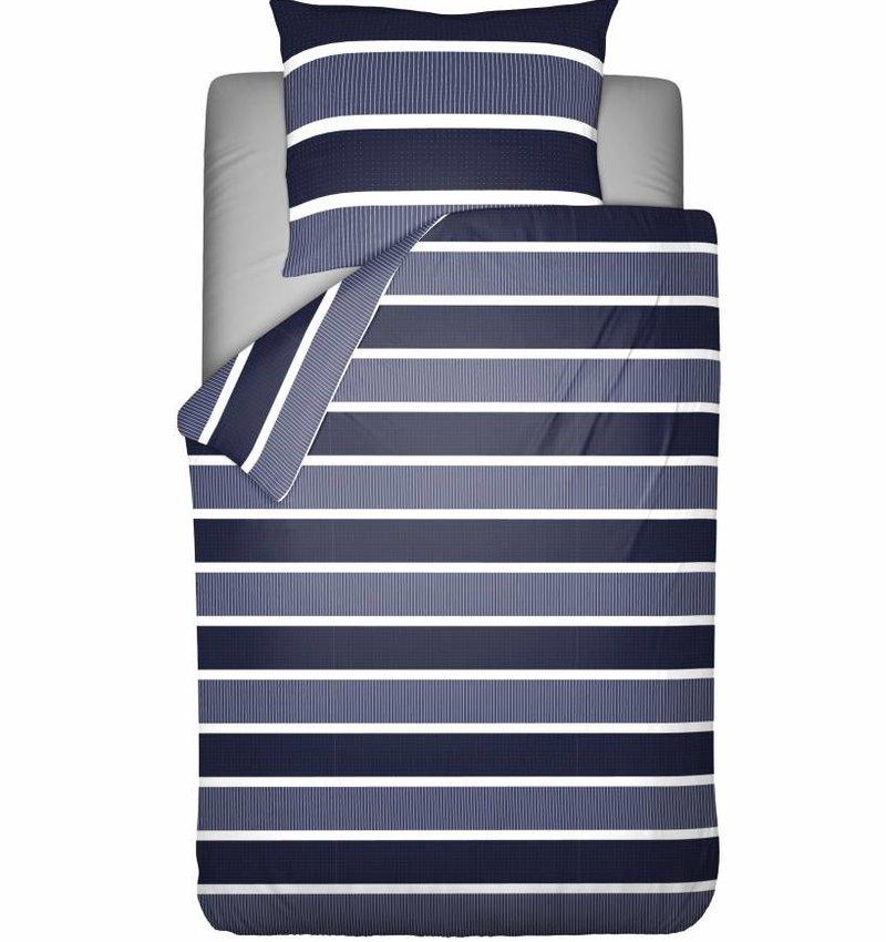 Pierre Cardin Dekbedovertrek Classic Stripe Blauw
