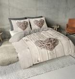 Nightlife Concept Dekbedovertrek Home is Wood Taupe