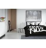 Nightlife Concept Dekbedovertrek Rock N Roll Zwart