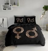 Nightlife Concept Dekbedovertrek Symbols Leopard