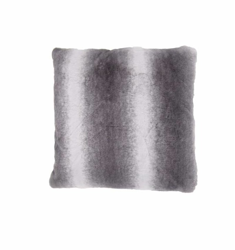 Nightlife Home Sierkussenhoes Faux Fur Antraciet - Copy