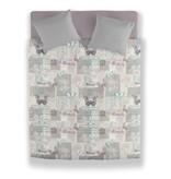 Wake-Up! Bedding Dekbedovertrek Butterfly Pastel