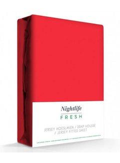 Rood Jersey Hoeslaken 150 gram