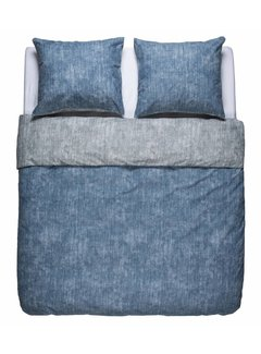 Nightlife Fresh Dekbedovertrek Washcotton Blauw grijs