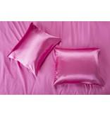Nightlife Satin Satin pillow case Hot Pink