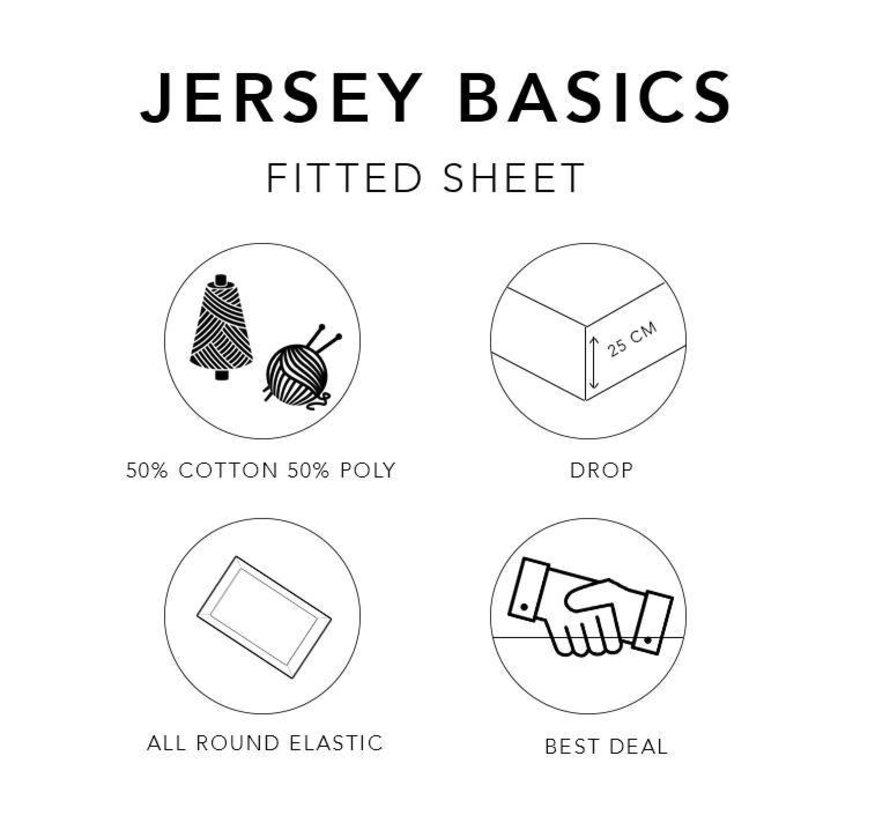 Hoeslaken Basic Ecru (Rol verpakking)