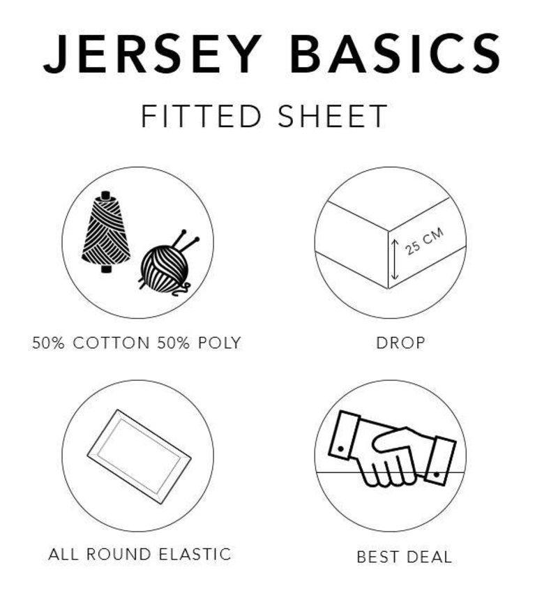 Hoeslaken Basic Taupe (Rol verpakking)