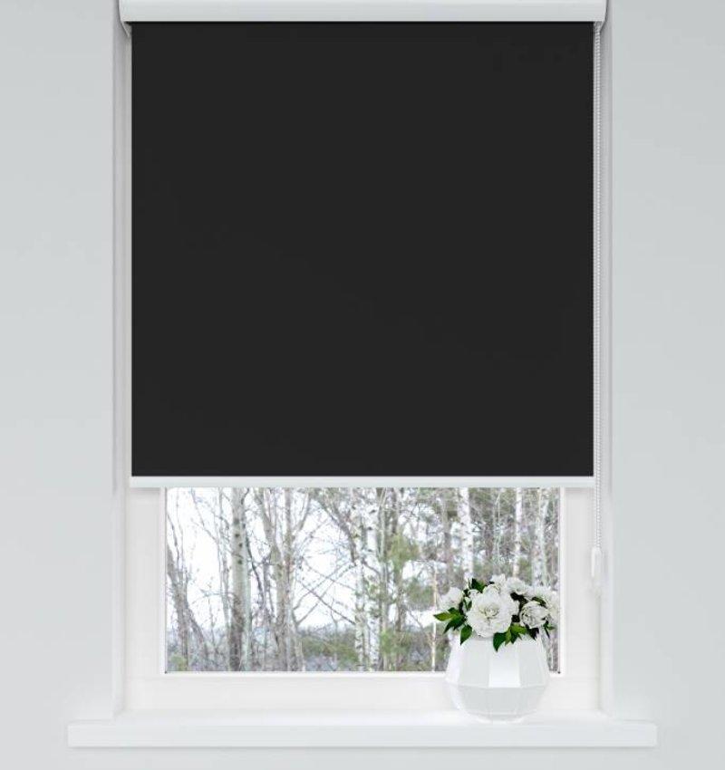 Nightlife Home Solid rolgordijn verduisterend Zwart
