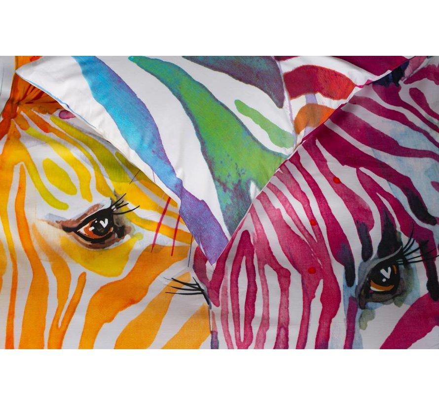 Dekbedovertrek Zebra Color