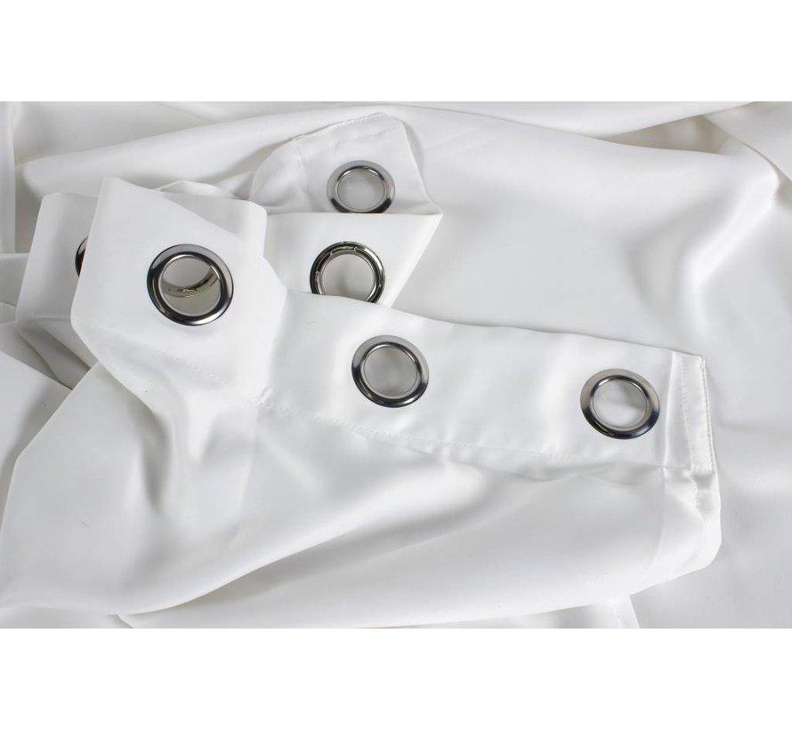 Gordijn Ringen Wit
