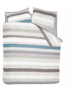 Nightlife Wake Up Dekbedovertrek Pastel Stripe Blauw