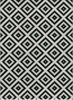 Loft Seven Vloerkleed Diamond Zwart
