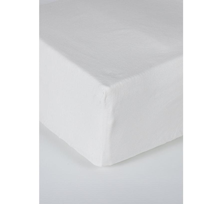Wit Jersey Hoeslaken 150 gram