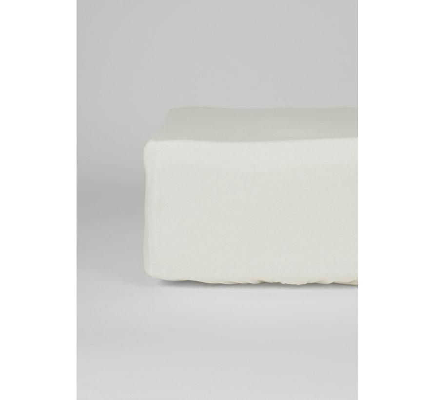 Ecru Jersey Hoeslaken 150 gram