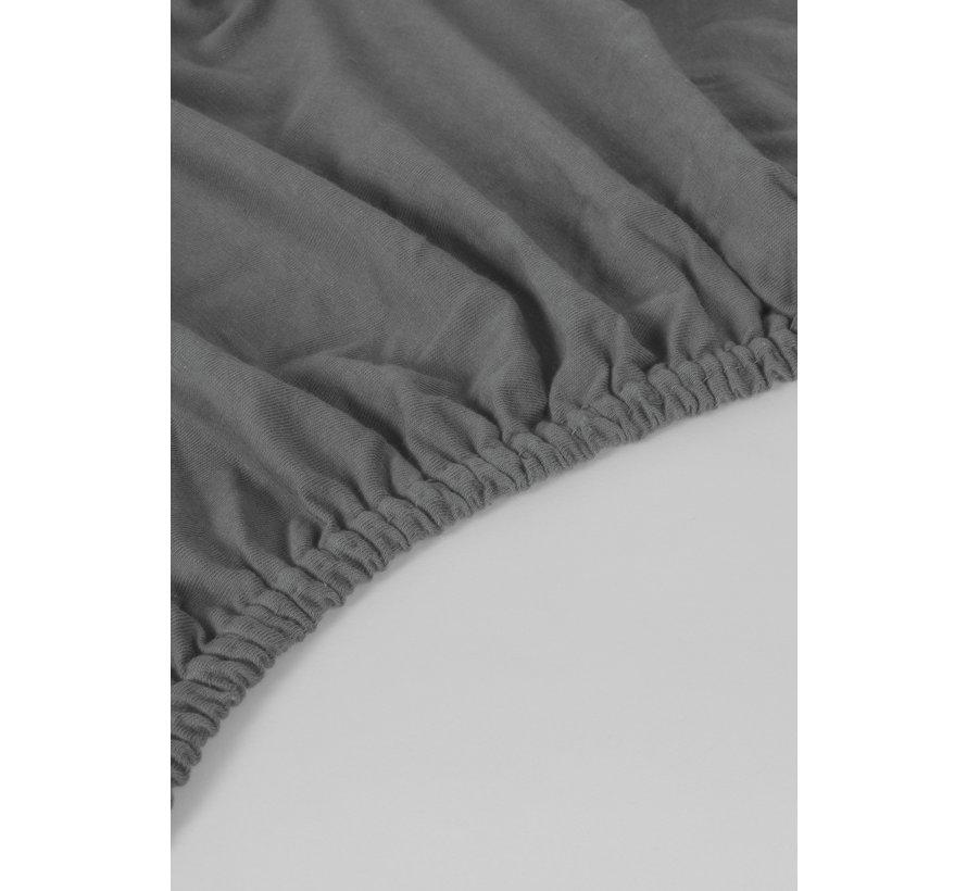 Antracite Jersey Hoeslaken 150 gram