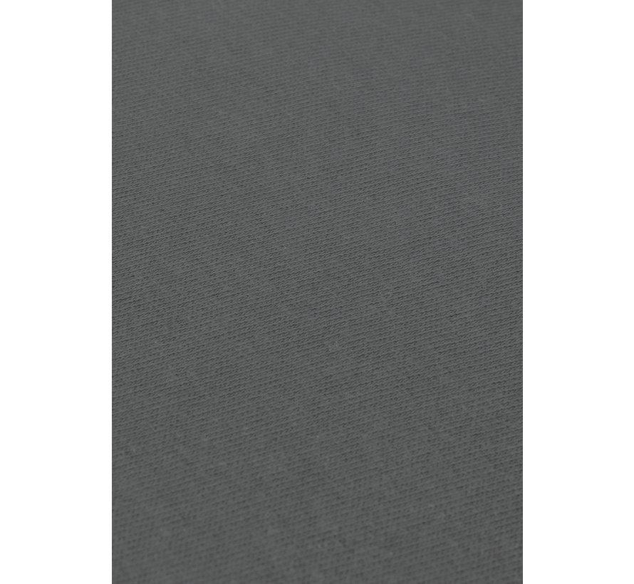 Antraciet Jersey Topper Hoeslaken 150 gram