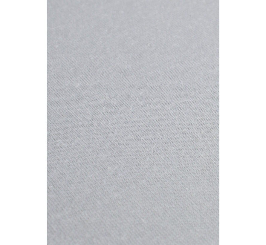 Licht Grijs Jersey Hoeslaken 150 gram
