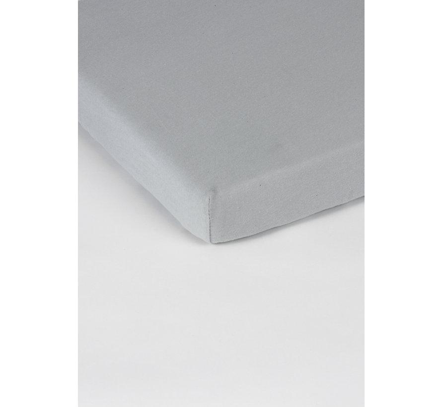 Licht Grijs Jersey Topper Hoeslaken 150 gram