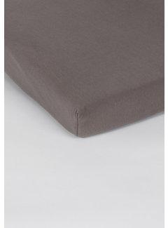 Taupe Jersey Topper Hoeslaken 150 gram