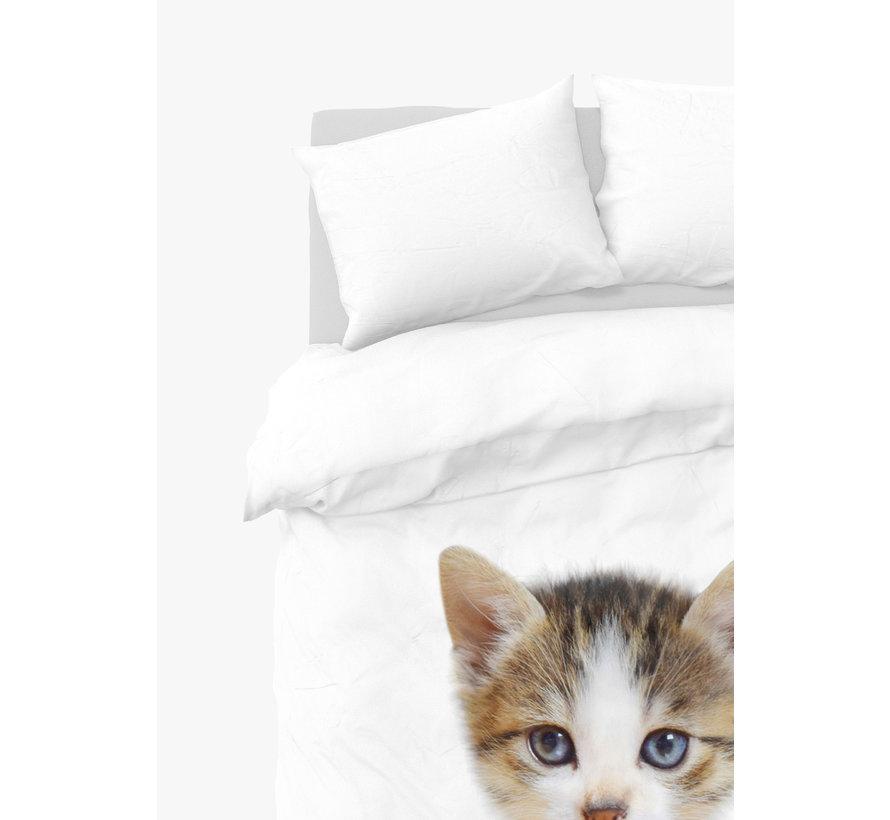 Dekbedovertrek - kitten