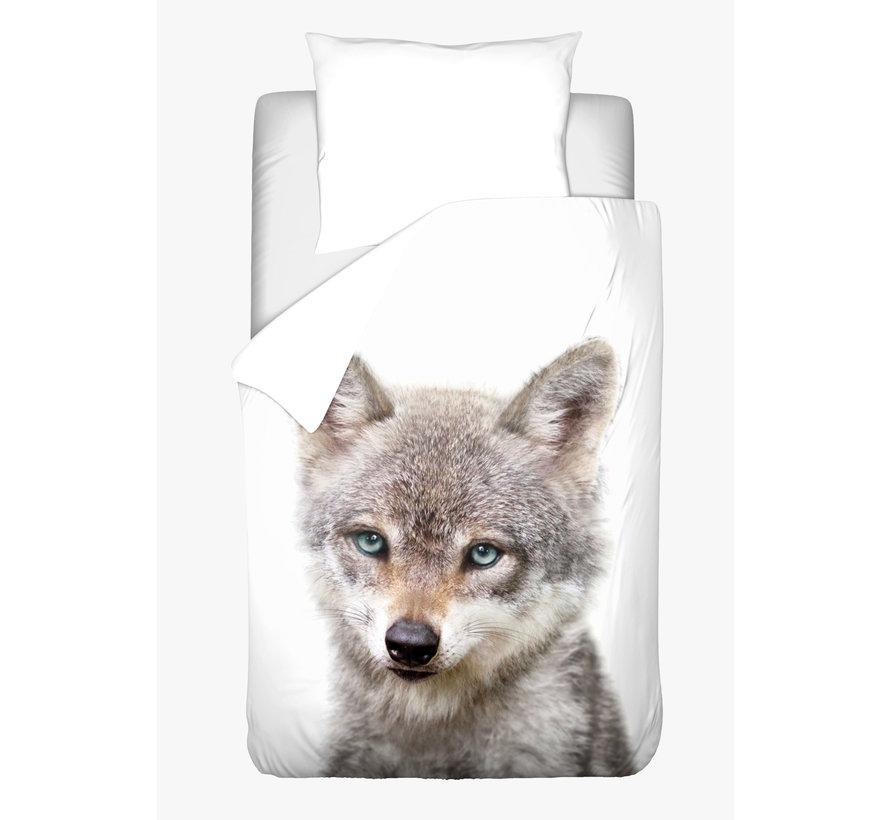 Dekbedovertrek - Baby Wolf