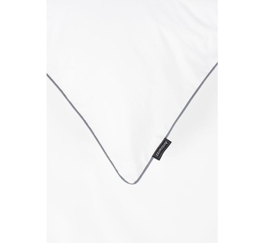Dekbedovertrek - Cotton solid Wit