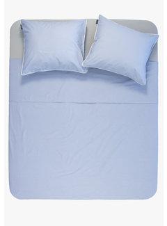 Ambianzz Dekbedovertrek - Cotton solid Blauw