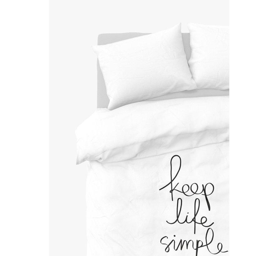 Dekbedovertrek - Simple Life