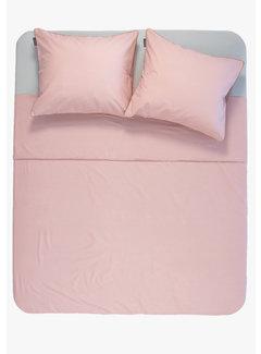 Ambianzz Dekbedovertrek - Cotton solid Roze