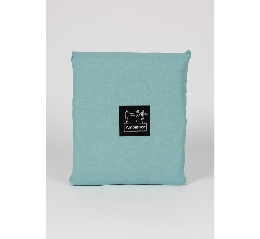 Dekbedovertrek - Vintage washed cotton Groen