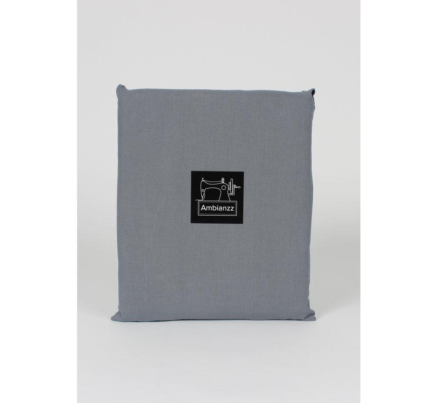 Dekbedovertrek - Vintage washed cotton Donkergrijs