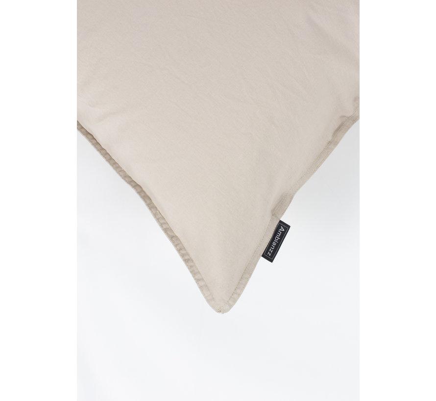 Dekbedovertrek - Vintage washed cotton Beige