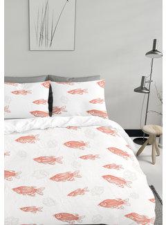 Gaaf Dekbedovertrek - Living Coral fish
