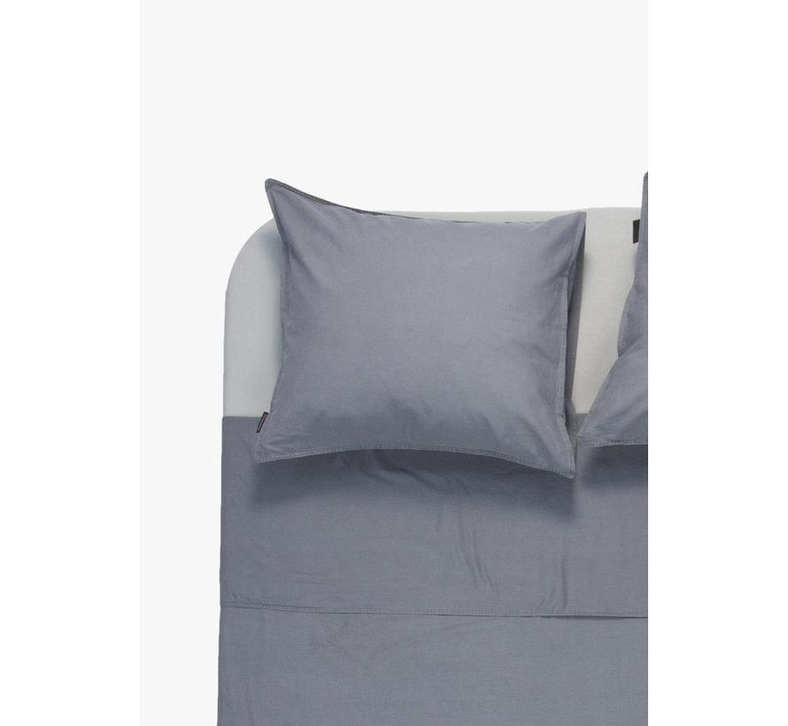 Kussenslopen - Vintage washed linnen katoen Donkergrijs (per 2 verpakt)