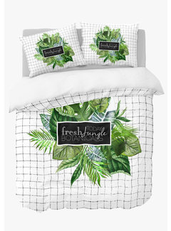 Nightlife Dekbedovertrek - Jungle botanicals