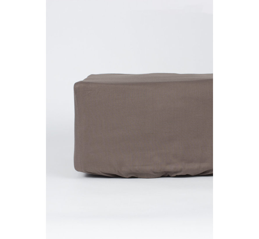 Hoeslaken Taupe