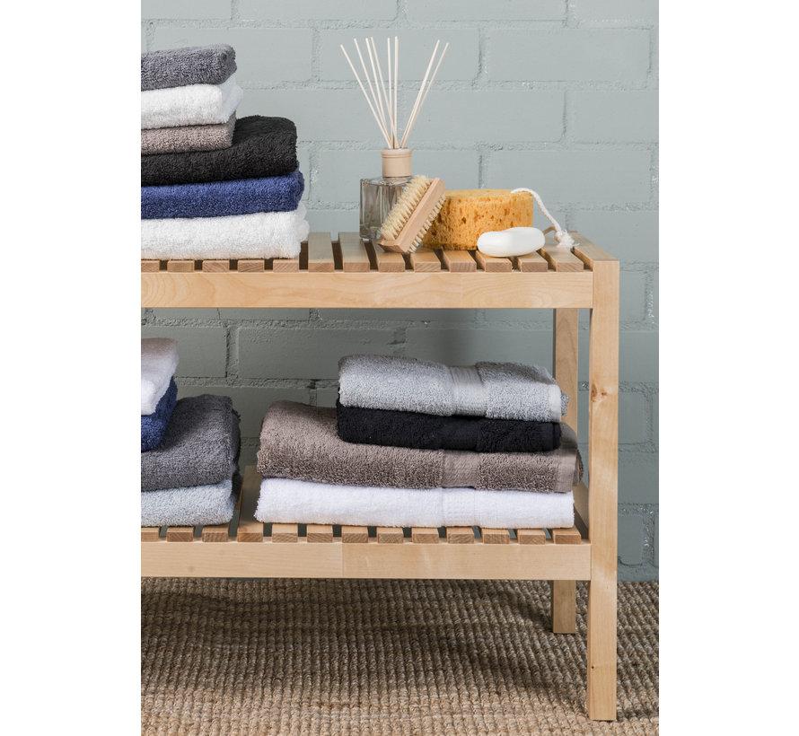 Handdoek Donker Blauw per 5 verpakt