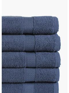 Nightlife Fresh Handdoek Donker Blauw 5-pak